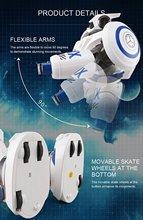 JJR/C JJRC R1 RC Robot AD Police Files Programmable Combat Defender Intelligent RC Robot Remote Control Toy for Kids