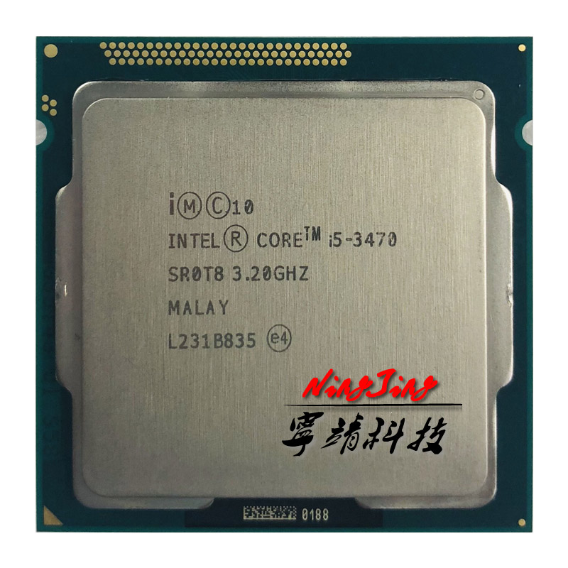 Intel Core i5 3470 i5 3470 3 2 GHz Quad Core CPU Processor 6M 77W LGA
