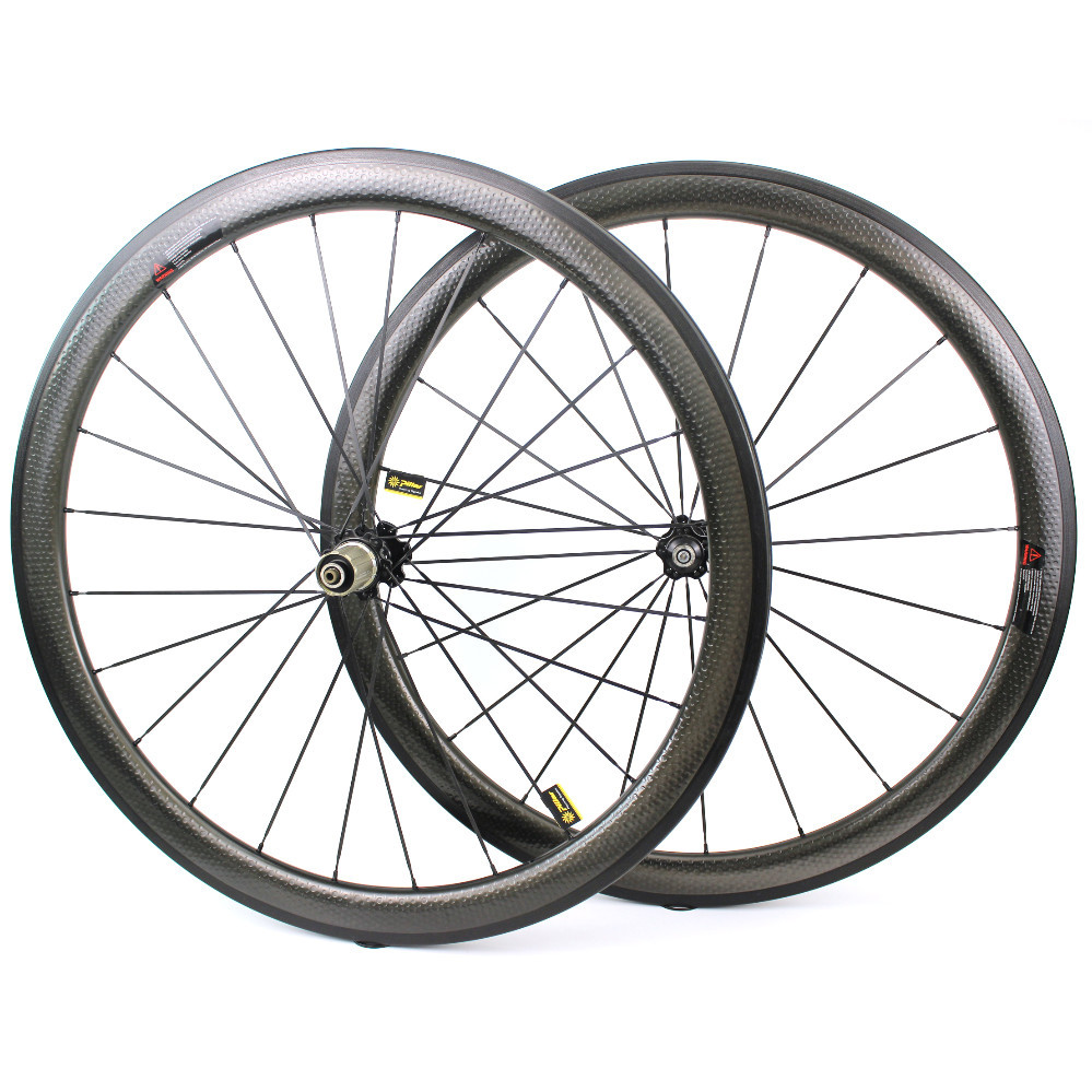 45mm Dimple Carbon Wheels 25mm Width Aero Dimple Finishing Road Bike Wheelset With Novatec Hub for 700c road bicycle45mm Dimple Carbon Wheels 25mm Width Aero Dimple Finishing Road Bike Wheelset With Novatec Hub for 700c road bicycle