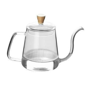 Bouilloire à col de cygne en acier: petites bouilloires de cuisine en acier inoxydable Pour café et thé