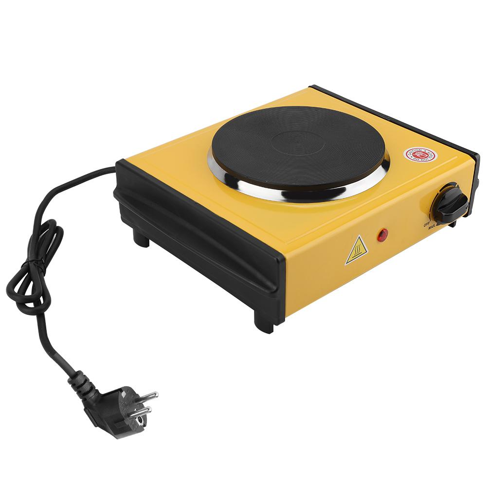 1000W Electric Mini Stove Burner Hot Plate Coffee Heater EU Plug 220 240V Coffee Heater Mocha