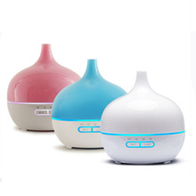 200ml Air Humidifier Aroma Diffuser Essential Oil Diffuser Humificado Aromatherapy Ultrasonic Mist Maker 7 Color LED Vase Shape