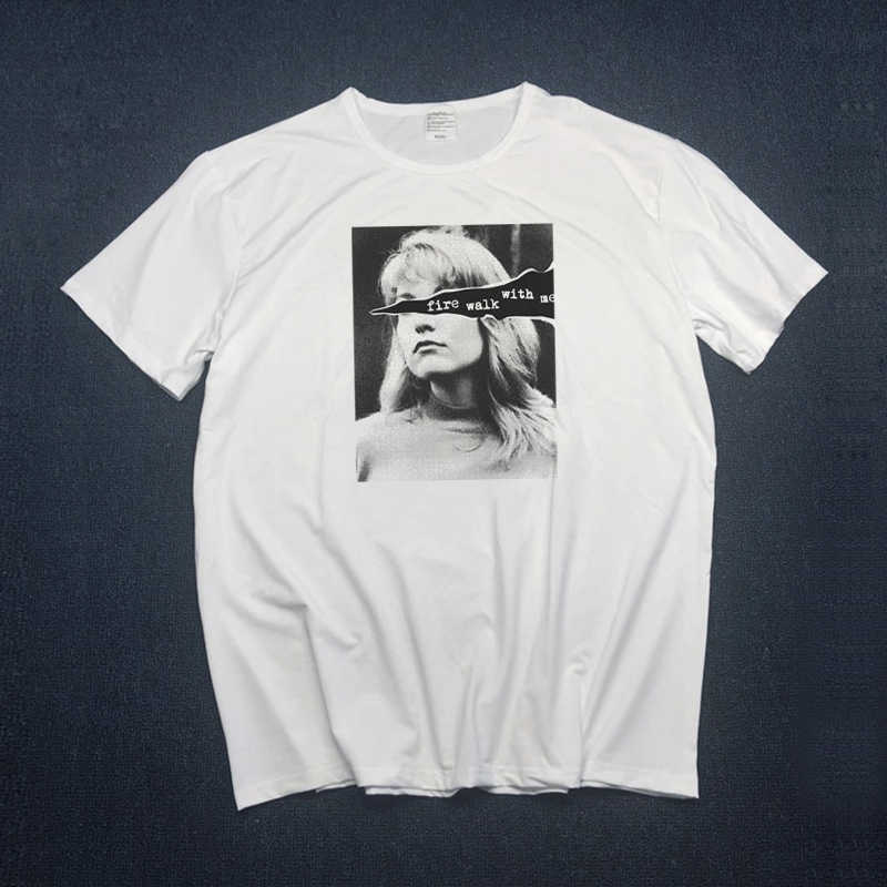 669daefa Japanese Twin Peaks T Shirt Women Casual men Short Sleeve David Lynch T - Shirt Female