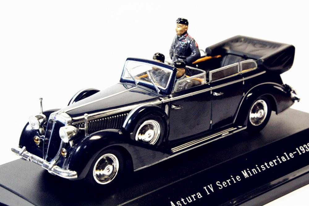 1:43 Starline Lancia Astura Iv Serie Ministeriale 1938 Diecast Model