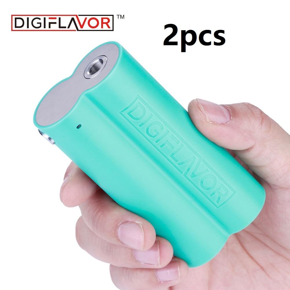 2 pcs/lot Vape Mod digisaveur boîte lunaire mod comme Chipset Cigarette électronique Vape Mod prend en charge le réservoir Lumi par double vaporisateur 18650