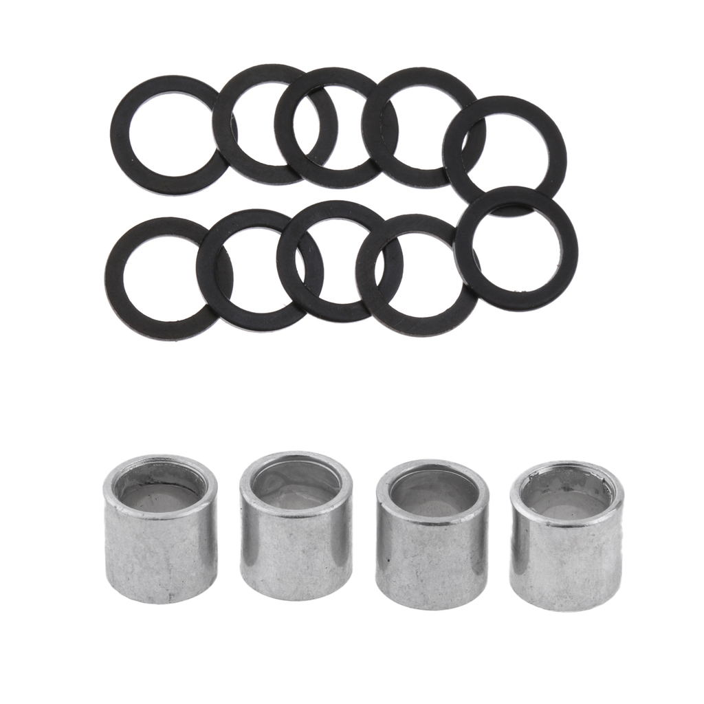 Perfeclan Spacers And Washers For Skateboards Longboards Scooter Cruiser Truck Wheel Axle Washer Speed Ring