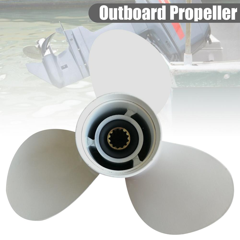 40 50HP Aluminum Alloy Outboard Propeller for Boat Yamaha Motor 11 5 8 X 11 G 69W 45947 00 YH OB 25 60HP with 13 Spline Tooth