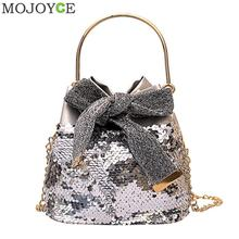 Sequins Crossbody Bags for Women Handbag Shoulder Messenger Bag