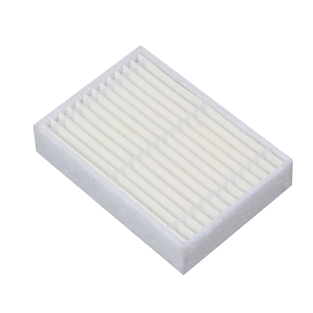 6pcs Replacement Hepa Filter For Panda X600 Pet Kitfort Kt504 For Robotic Robot Vacuum Cleaner Accessories Non-Ironing Vacuum Cleaner Parts Home Appliance Parts