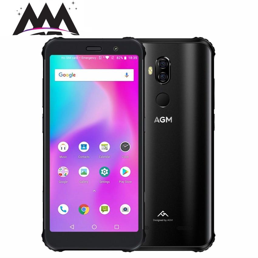 "AGM X3 IP68 Waterproof shockproof mobile Phone 5.99"" FHD 6GB+64GB Qualcomm SDM845 Octa-core 24MP Wireless Charging 4G Smartphone"