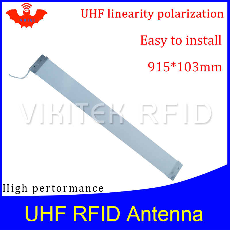 UHF RFID  Strip thin antenna Vikitek VA909 915MHZ middle range 920-925M self-service supermarket Doorframe rfid reader antennaUHF RFID  Strip thin antenna Vikitek VA909 915MHZ middle range 920-925M self-service supermarket Doorframe rfid reader antenna