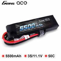 Gens ace Lipo batería 11,1 V 5500mAh Lipo 3S batería 50C TRX macho 1/8 RC coche baterías Traxxas X-MAX HPI E-REVO