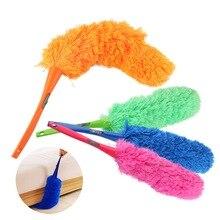 Стирающийся микрофибровый пылеуловитель с длинной ручкой щетка для пыли гибкий пылесборник для мебели для очистки автомобиля