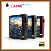 Hidizs AP80 высокого разрешения ES9218P Bluetooth FM радио с функцией подачи Хай Фай музыки и MP3 плеер LDAC USB DSD DAC 64/128 FM радио hibylink FALC DAP