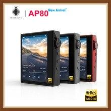 Hidizs AP80 Hi-Res ES9218P Bluetooth FM радио HIFI музыка MP3 плеер LDAC USB ЦАП DSD 64/128 FM радио HibyLink FALC DAP