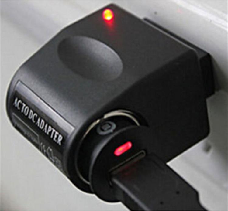 US Plug Car Cigarette Lighter Adapter Converter Wall 110V 220V AC Power to 12V DC Hot in Cigarette Lighter from Automobiles Motorcycles