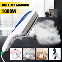 Household Electric Iron Mini Portable Steam Brush Foldable Electric Steam Iron 1000W Handheld Machine For Clothes Home Travel