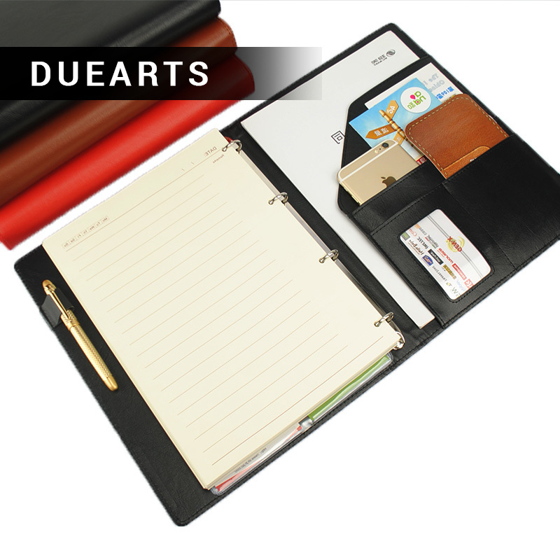 DUEARTS Commercial A4 Binder Notepad Notebook Stationery