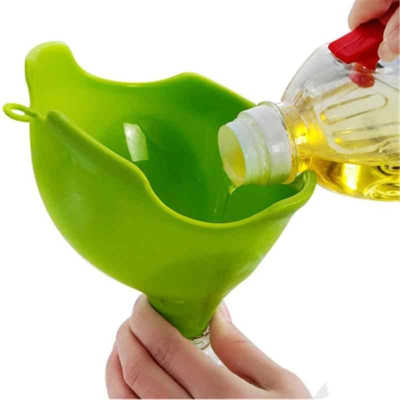 Mini Silicone Elephant Water Funnel Desk Ornaments Kitchen Household Multi Function Cooking Tools Multi Function Kitchen Tool