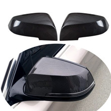 For BMW F30 F31 F34 F35 F32 F33 F20 F22 F21 F36 X3 Rear View Mirror Cover ABS