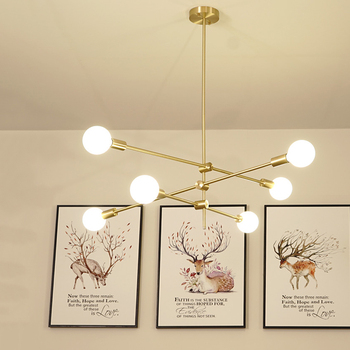 Modern Glass Pendant Lamp Black/Gold Led Pendant Lights Bedroom Living Room Restaurant Hanging Lamp Kitchen Fixtures Luminaire
