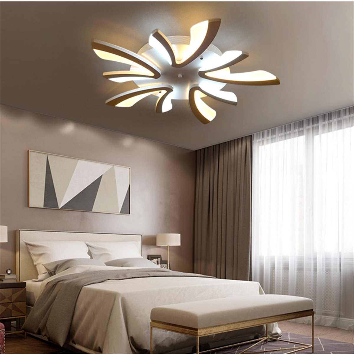 Modern LED Acrylic Ceiling Lamp Delicate Pendant Light Chandeliers Home Living Room Bedroom Dining Bedroom Decor Light FixturesModern LED Acrylic Ceiling Lamp Delicate Pendant Light Chandeliers Home Living Room Bedroom Dining Bedroom Decor Light Fixtures