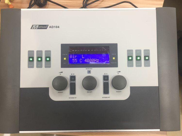 Appareil audiomètre portatif appareil médical appareil audiomètre à Conduction d'air pour appareil auditif AD-104