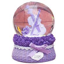 Karuzela Pozytywka Caixinha Ballerina La Land Mechanism Snow Ball Carousel Musical Boite A Musique Caja De Musica Music Box