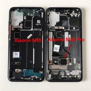 Image 5 - M & Sen pantalla LCD Original Amoled de 6,21 pulgadas para móvil, marco de Digitalizador de pantalla táctil para Xiaomi 8, Mi8, MI 8, M8