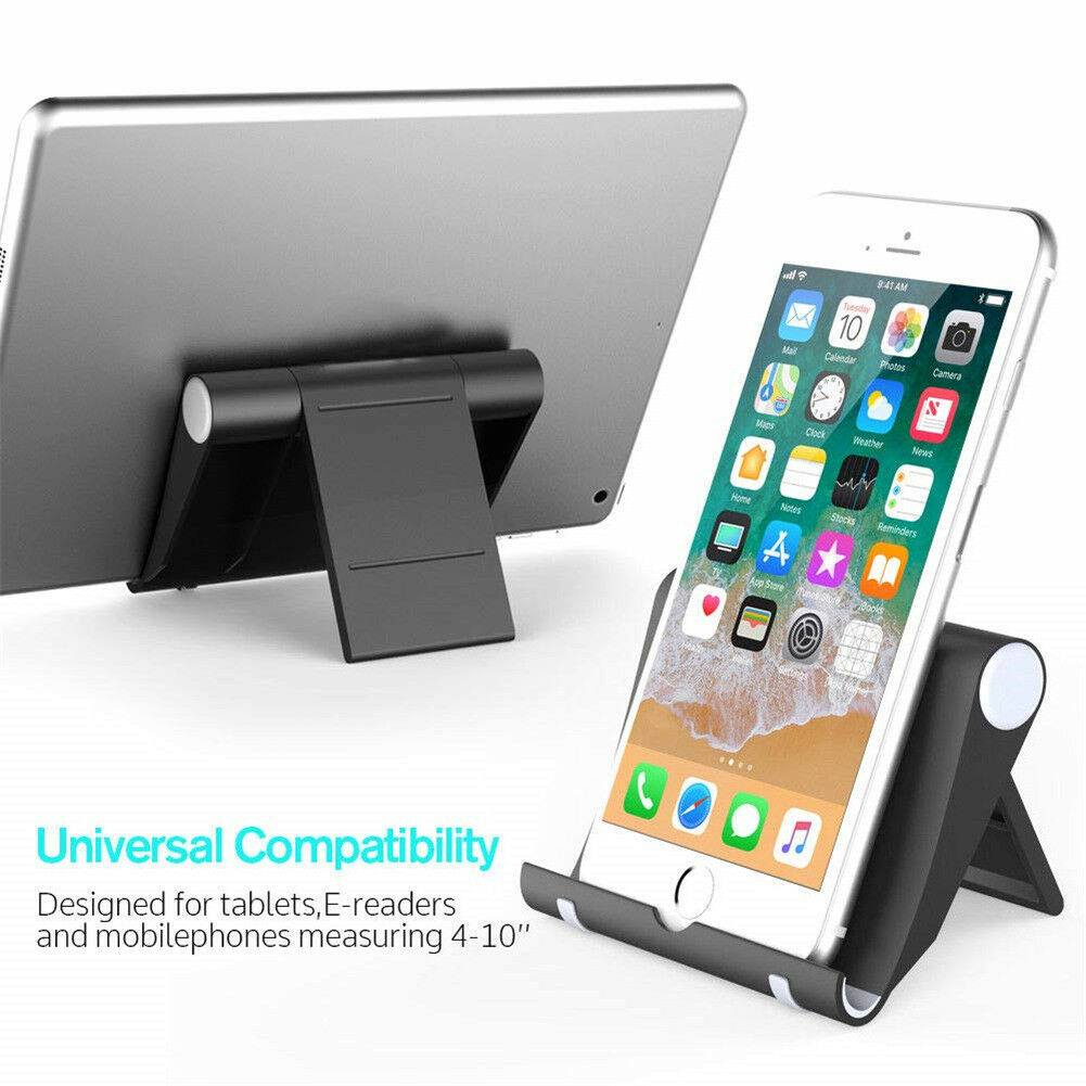 Symbol Of The Brand Universal Foldable Portable Desk Stand Mobile Phone Tablet Holder Adjustable Au Mobile Phone Accessories