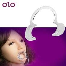 OLO Open Mouth Gag Oral Fixation Oral Sex SM Bondage Fetish Restraints Slave Adu