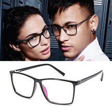bbbabb4a7 2019 أزياء النساء النظارات البصرية إطار الرجال خمر مربع النظارات إطار واضح  عدسة نظارات الأسود الأزرق