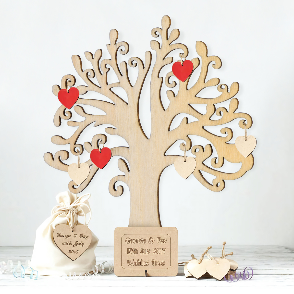 F253 MDF Laser Cut 3 x Family Tree Kit Set Craft Shapes Scrapbook Embellishment