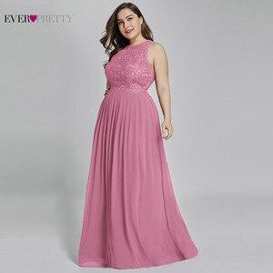 Image 3 - אמא של חתן שמלות בתוספת גודל אי פעם די אלגנטי קו O צוואר חרוזים תחרה ארוכה פורמליות שמלות המפלגה עבור חתונה 2020