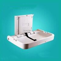 Экологически нейлон материал белый цвет ванная комната уход за ребенком станция для смены подгузника