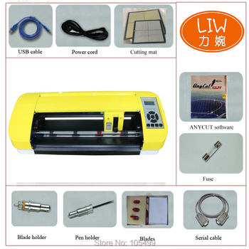 Automatic Vinyl Contour Cutting Plotter CutterPlotter for Sticker/Vinly/Paper
