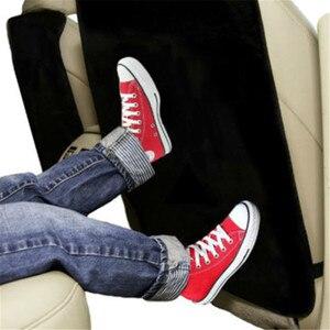 1Pc Car Seat Back Protector Cover Pad Children Kick Anti Dirty Mud Mat Black Toddler Seat Mat Hot Wholesales Car Seat Kick Pad