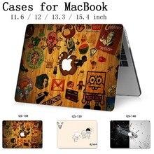 Для MacBook Air Pro retina 11 12 13,3 15,4 дюймов для ноутбука MacBook Чехол для ноутбука рукав с защитной клавиатурой