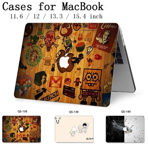 Image 1 - Per MacBook Air Pro Retina 11 12 13.3 15.4 Pollici Per Notebook MacBook Manica Cassa Per Il Computer Portatile Con La Protezione Dello Schermo tastiera Cove