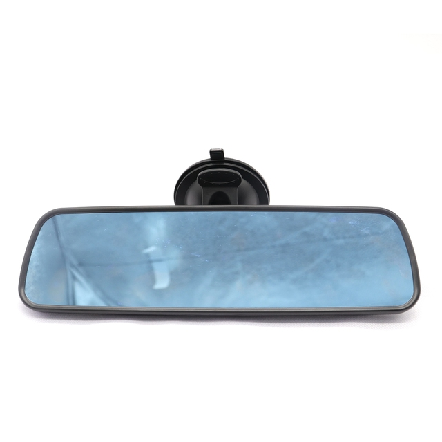 Universal Car Interior Rear View Mirror Suction Cup Wide Angle Interior Rearview Mirror Large Vision Flat Mirror Car Accessories 5
