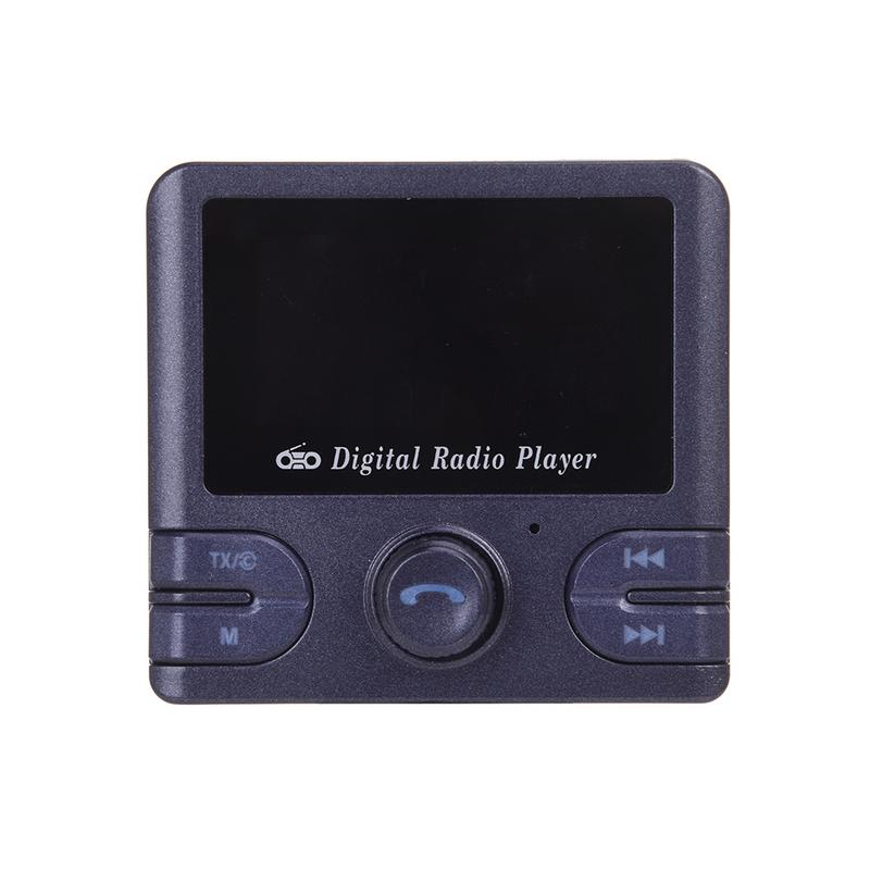 In Car DAB Digital Radio Adapter Bluetooth SMB DAB Antenna FM Transmitter Audio Hands free Phone Calling TF Card MP3 Player
