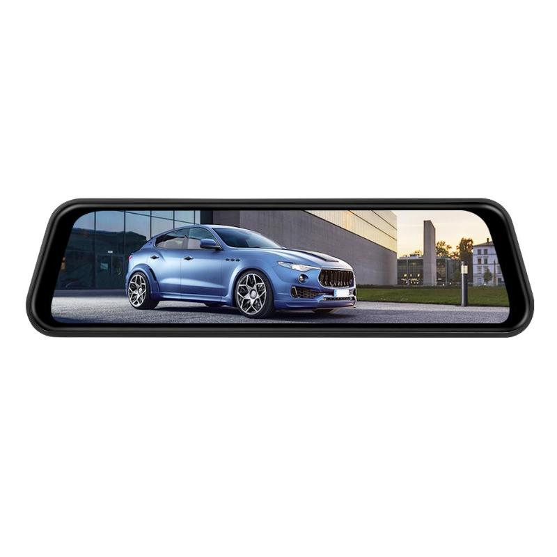 Phisung H60 9 66 inch IPS Rearview Mirror Car DVR Camera 140 Degrees 1080p 720p Dual
