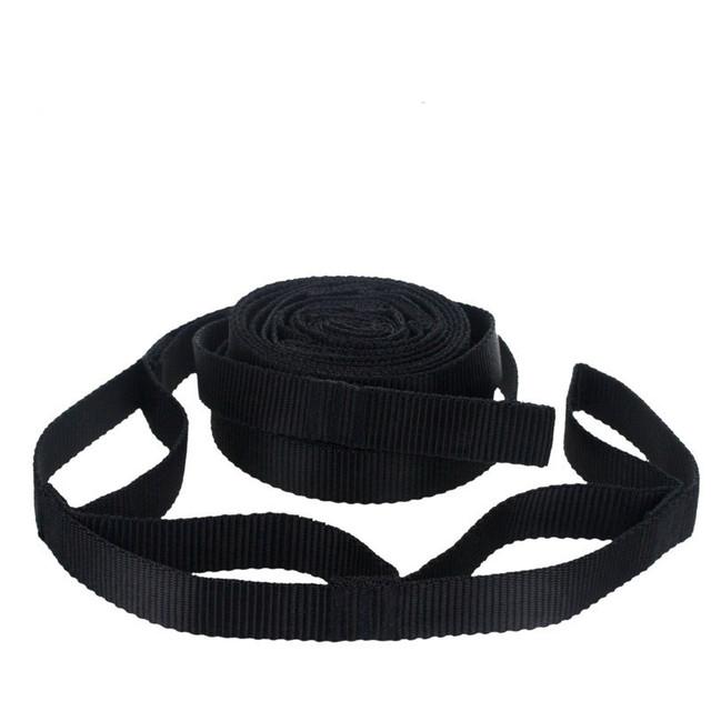 Hængekøje justerbare hængebåndbælte 200*2cm