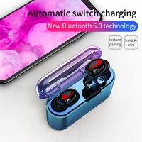 Правда Bluetooth V5.0 наушники 3D HiFi СПЦ Беспроводной спортивные наушники глубокий бас-стерео гарнитура с микрофоном для iPhone Android