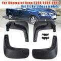 Für Chevrolet Aveo T250 2007 2008 2009 2010 2011 Auto Schlamm Flaps Vorne Hinten Kotflügel Flares Auto Schmutzfänger Kotflügel Splash schutz-in Kotflügel aus Kraftfahrzeuge und Motorräder bei
