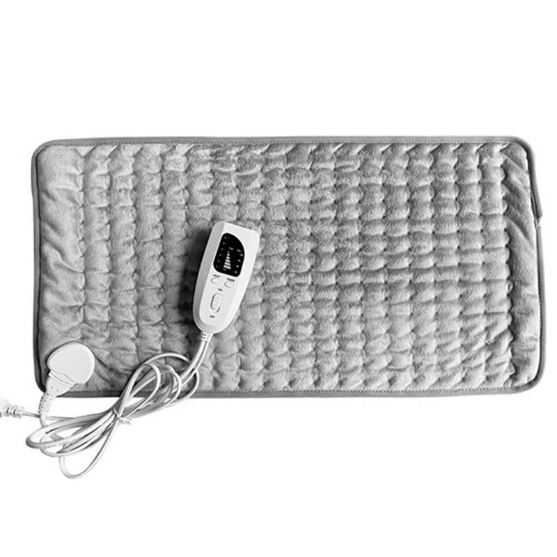 60cm*30cm Winter Electric Blanket Intelligent Temperature Control Warm With LED Indicator For Neck Shoulder Abdomen Care