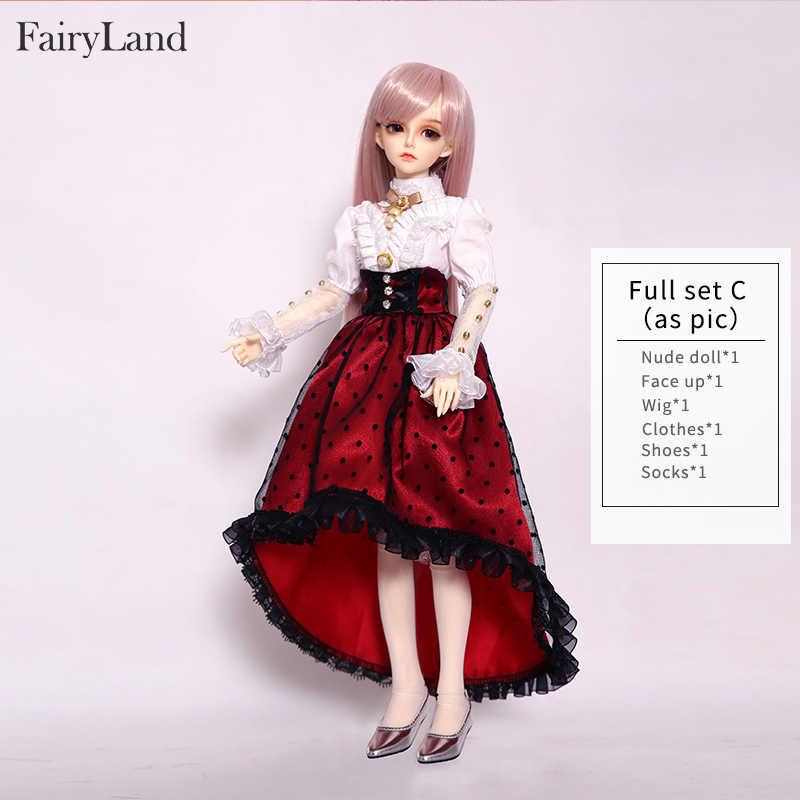Fairyland Minifee Rendia FairyLine ตุ๊กตา BJD 1/4 รุ่นหญิงตา MSD เรซิ่น Littlemonica Dollmore LUTs ของเล่น Shop