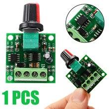 Controlador de velocidade de motor pwm, regulador de baixa tensão para motor de cc 1.8v 3v 5v 6v 12v 2a regulador de velocidade interruptor módulo da unidade ajustável