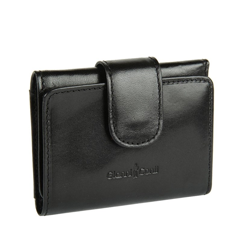 Coin Purse Gianni Conti 908000 black цена и фото