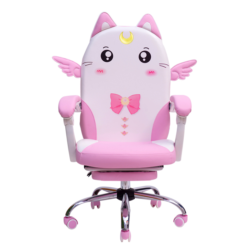 European Pink Colour Lovely Main Sowing Household Dormitory Modern Concise Student Direct Seeding Game ChairEuropean Pink Colour Lovely Main Sowing Household Dormitory Modern Concise Student Direct Seeding Game Chair